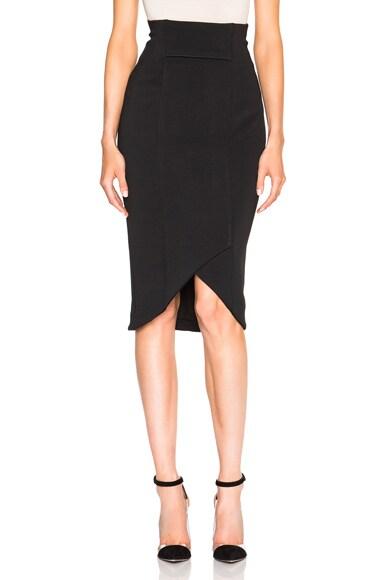 NICHOLAS Bandage Centered Skirt in Black