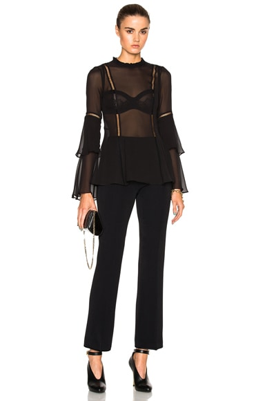 Georgette Layered Top