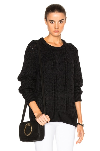 Nili Lotan Gwen Sweater in Black