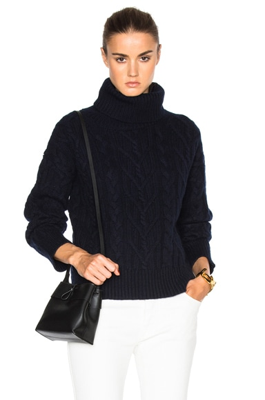 Nili Lotan Gigi Sweater in Navy