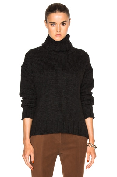 Nili Lotan Kate Sweater in Coal