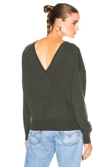Nili Lotan Jolie Sweater in Army Green