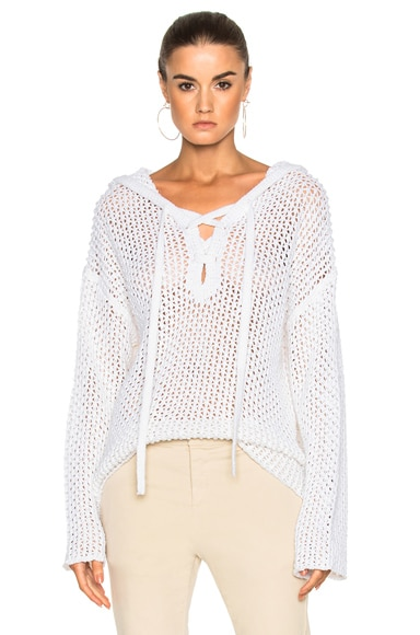 Nili Lotan Maisie Sweater in White
