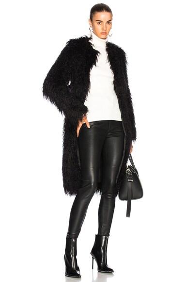 Moxie Faux Fur Coat