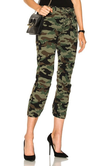 for FWRD Lace Front Cropped French Military Pants