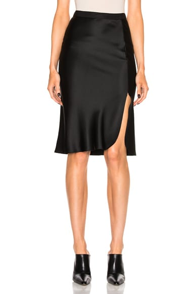 Nili Lotan Lillie Skirt in Black