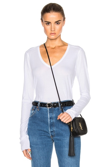 Avery V Neck Top
