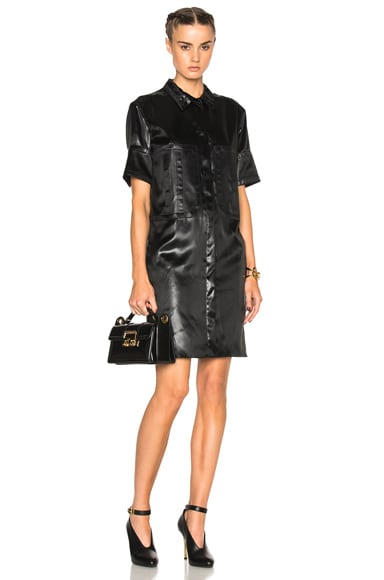 Nina Ricci Mini Dress in Black