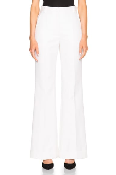 Nina Ricci Panama Trousers in White
