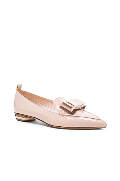 Patent Leather Beya Bow Flats