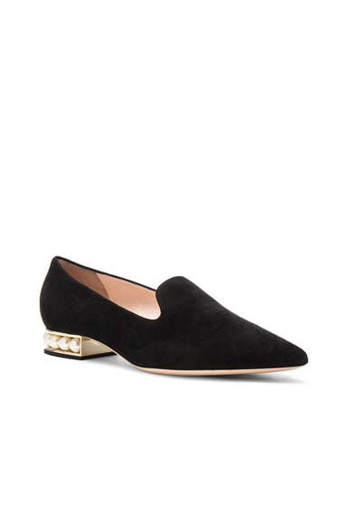 Suede Casati Pearl Loafers