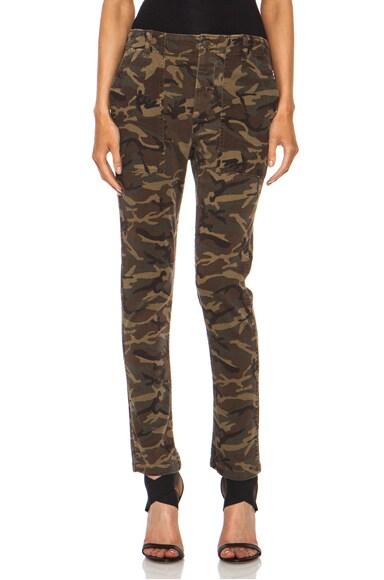 Slouch Utility Cotton-Blend Trouser