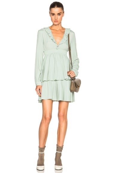 No. 21 Estella Dress in Mint