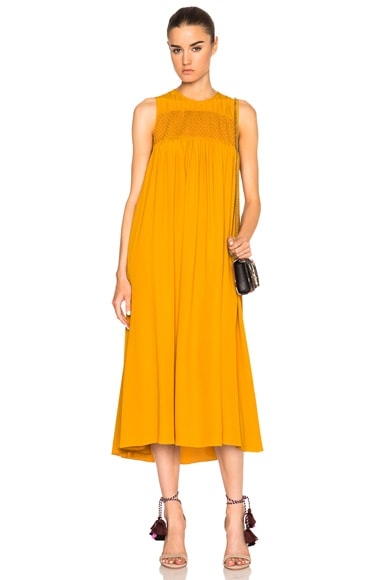 No. 21 Alisha Dress in Mustard