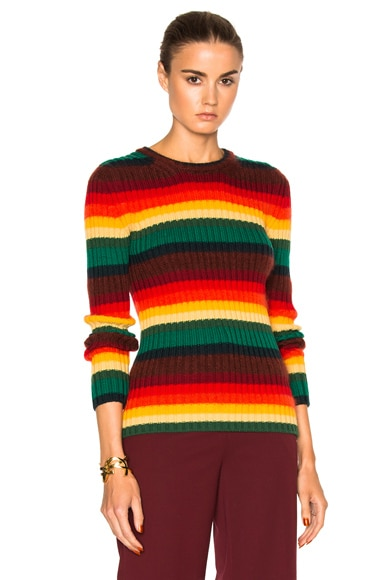 No. 21 Osane Sweater in Multi Stripe