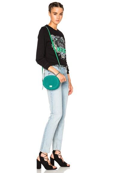 Small Round Crossbody Bag