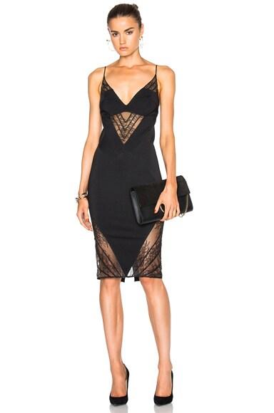 Noam Hanoch Candice Dress in Black