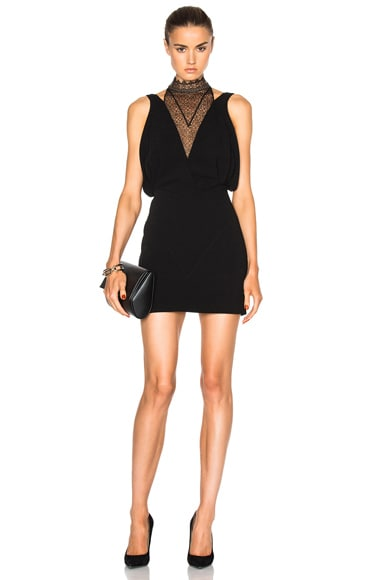 Noam Hanoch Daisy Dress in Black
