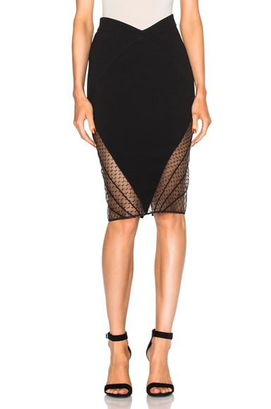 Noam Hanoch Kami Skirt in Black