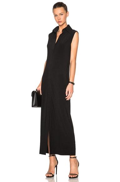 Norma Kamali Sleeveless Dress in Black