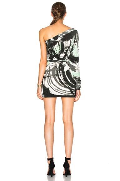 One Sleeve Shoulder Dress