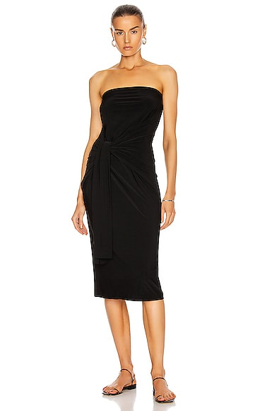Norma Kamali All In One Dress in Black