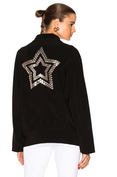 Stud Star Bomber Jacket