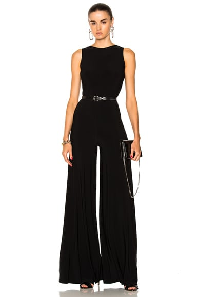 Sleeveless Low Back Elephant Jumpsuit