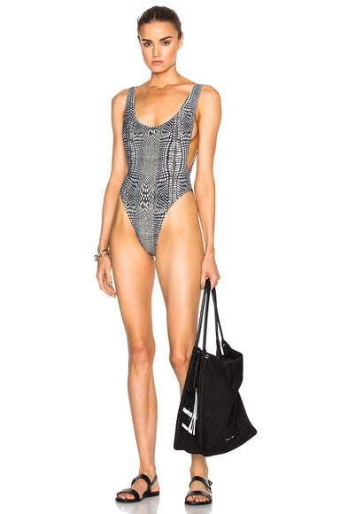 Norma Kamali Marissa Swimsuit in Illusion