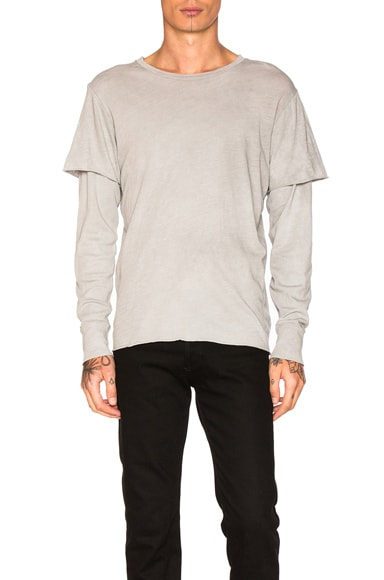 NSF Liam Shirt in Pigment Gale