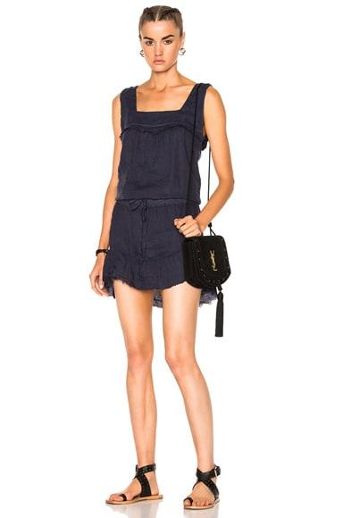 NSF Mallory Dress in Azulon