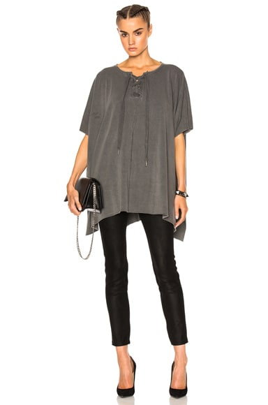 NSF Sounya Top in Pigment Black