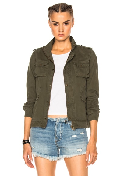 NSF Kae Jacket in Dark Olive