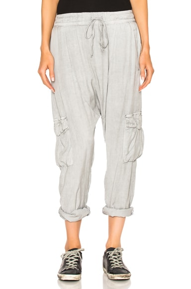 NSF Doe Pants in Pigment Pale Gray
