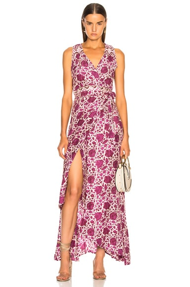 Danika Sleeveless Wrap Dress