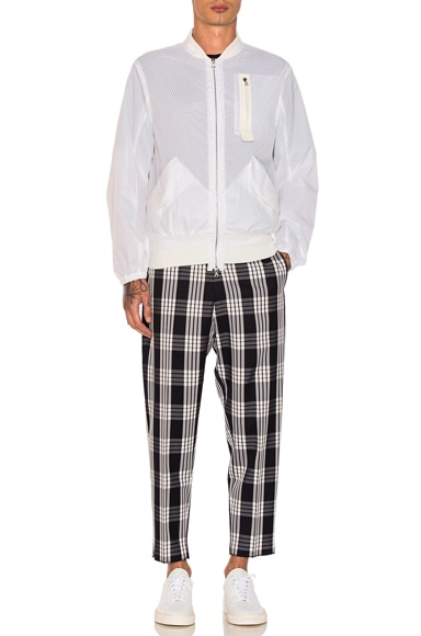 Tailored Plaid Pants