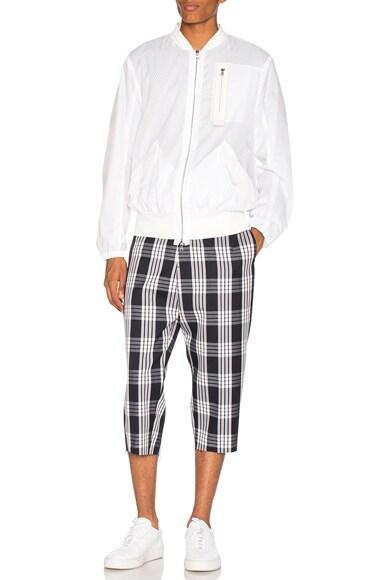 Tailored Plaid Pants