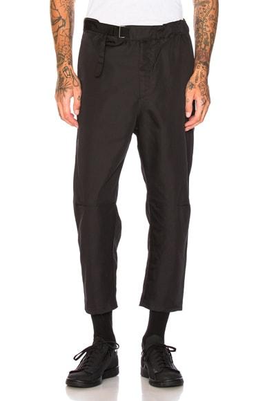Cropped Troop Pants