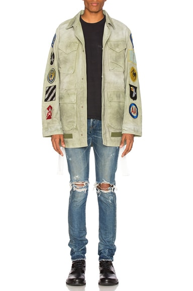 Patches Field Jacket