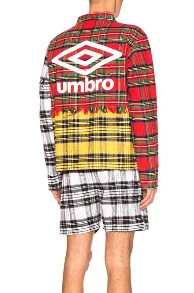 OFF-WHITE x Umbro Jacket in Red Check