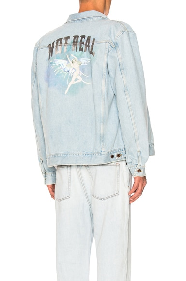 Not Real Angel Oversized Denim Jacket