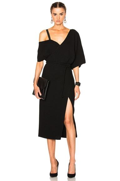 Off Shoulder Fringe Dress