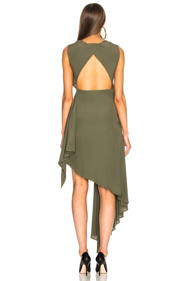 Asymmetric Military Dress