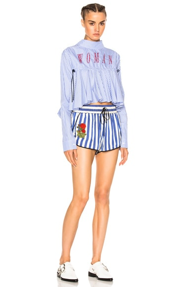 Striped Pajama Shorts