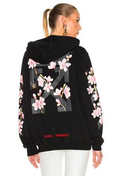 Cherry Blossom Diagonal Hoodie