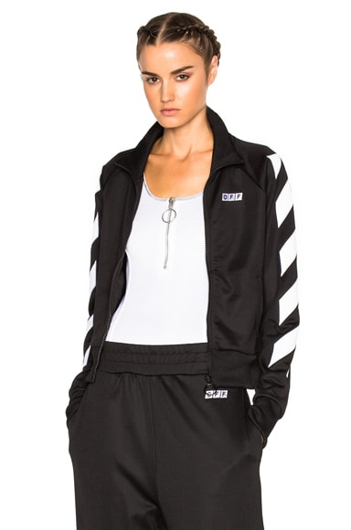 OFF-WHITE Sporty Off Jumper in Black