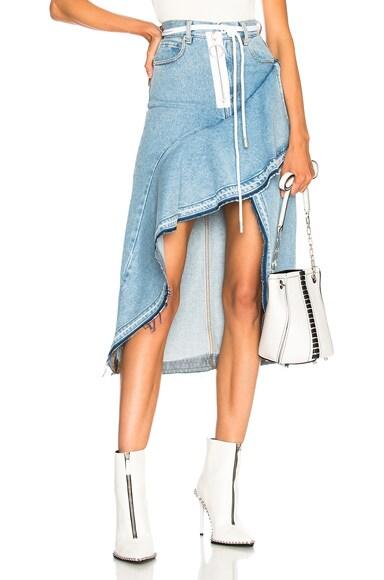 x Levi's Asymmetric Skirt