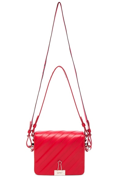 Diagonal Padded Flap Bag