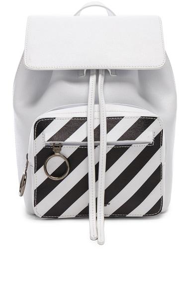 Mini Diagonal Backpack