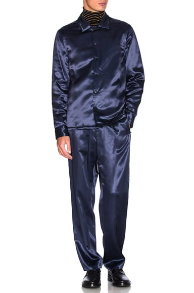 Silky Flannel Track Trousers